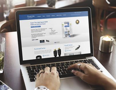 Web Design Approach for Purelink