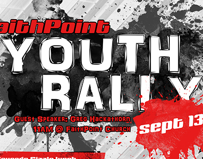 Youth Rally 2014 Poster