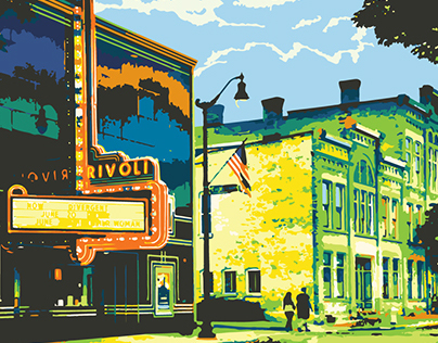 Cedarburg in 20 Colors: Rivoli & Washington House Inn