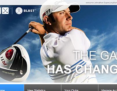 Blast Golf Application - Web Admin/Public Site