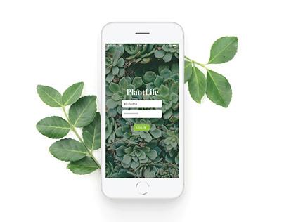 Plantlife App Concept