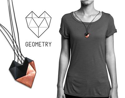 GEOMETRY HEART / jewellery