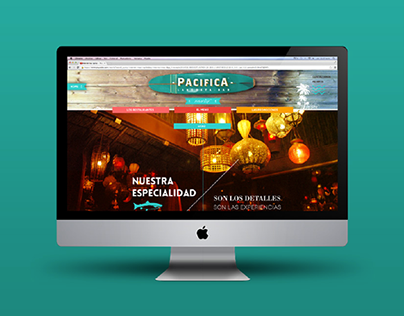 Grupo Pacífica Website