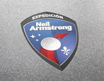 Escudo Expedición Neil Armstrong