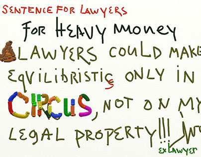 Sentence about LAW QUALITY