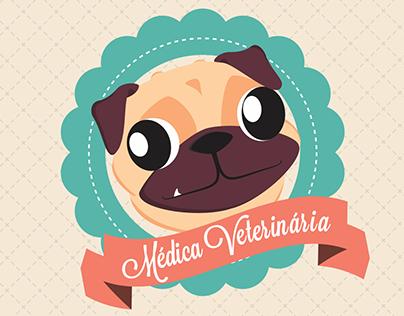 Cartão de Visita - Médica Veterinária
