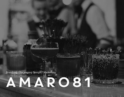 AMARO81   Branding / Packaging Design