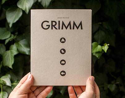 Grimms' Fairy Tales illustrated photobook
