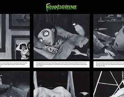 Frankenweenie Story Board