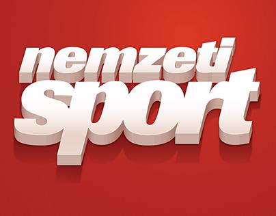 Icon design for NemzetiSport iOS application