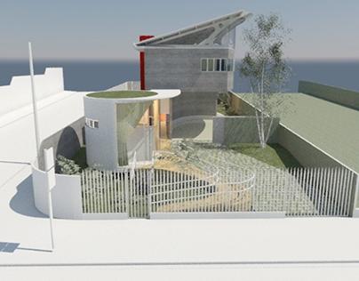Residência Unifamiliar (3º Projeto Arquitetônico)