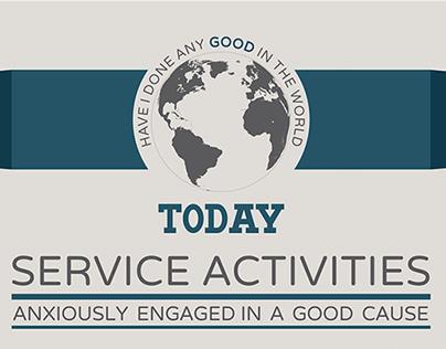 Service Activities Social Poster