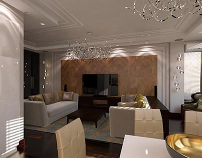 interior design living room Simferopol