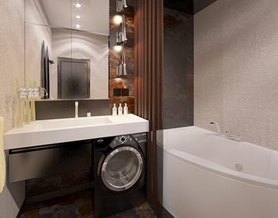 interior design bathroom Simferopol