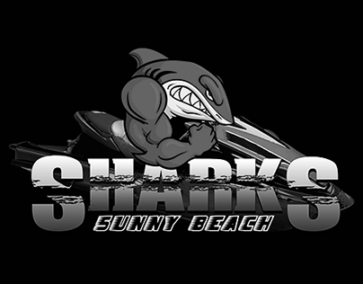 SHARKS - JetSki Team Logo Design