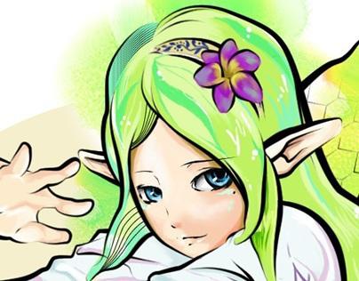 Anaria Digital Illustration