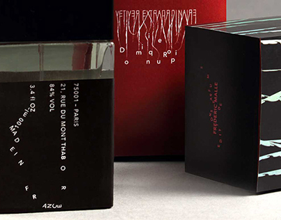Fragrance Packaging and Poster Design