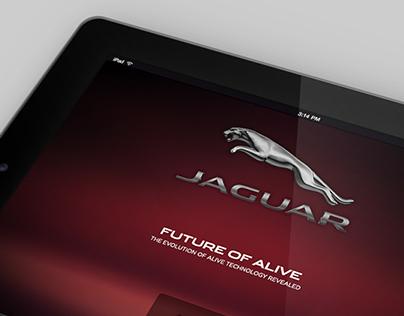 Jaguar C-X17 Launch - Tablet Screens