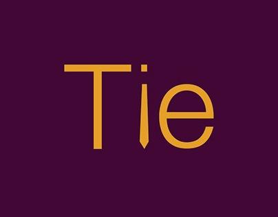 Typogram - Tie