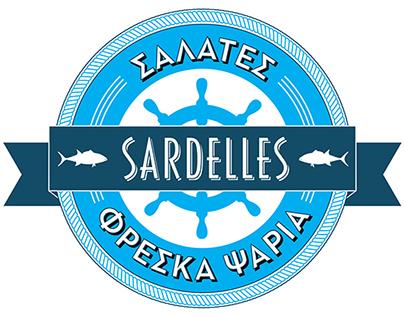 SARDELLES restaurant - Logo & Brand Identity redesign