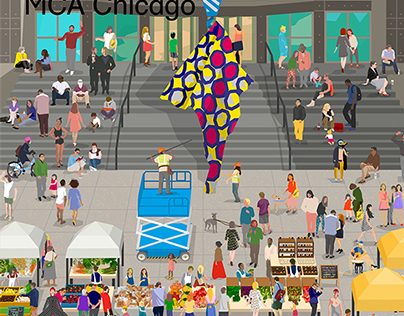 MCA Chicago Magazine Summer 2014 Cover