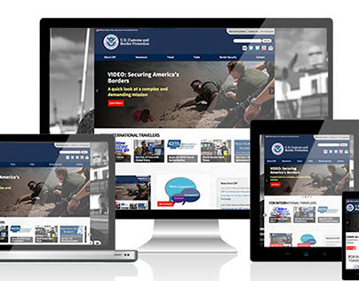 US Customs and Border Protection Website