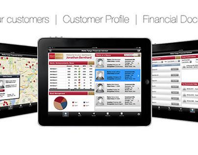 Concept Design: Wells Fargo iPad App