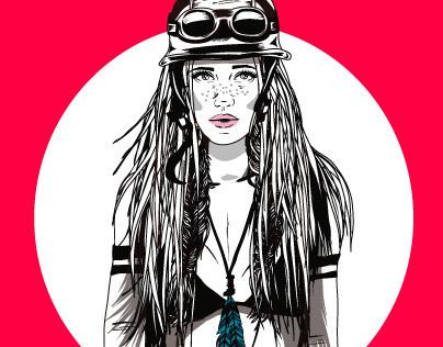 Moto Girl - Serie: My girls