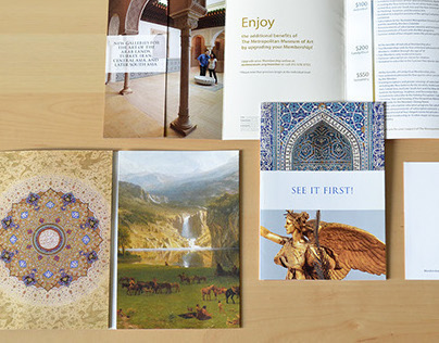 Direct Mail Package for the Metropolitan Museum of Art