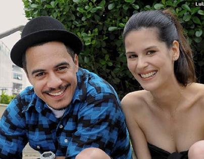 Programa Fashion TV - Luíza Mariane e Marcelo D2