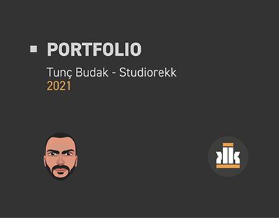 Tunç Budak - Studiorekk Portfolio 2021