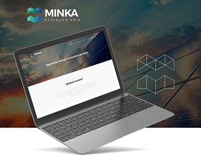Hexa - Web Site - Identidad - Minka Ecoingenieria