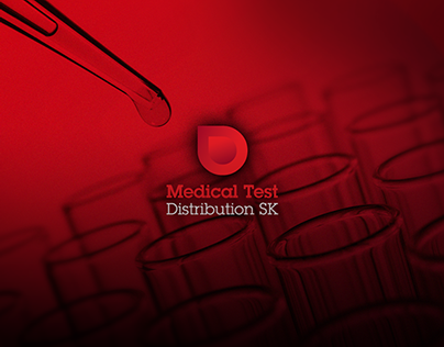 Brand Identity Medical Test Distribution SK