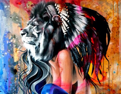 Lion Artwork
