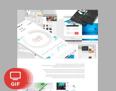 '14 - Get Free Design - Parallax