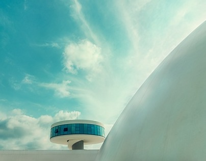 OSCAR NIEMEYER/CUTURAL CENTER INTERNATIONAL/AVILÉS
