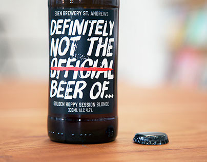Eden Brewery / Definitely Not The Official Beer Of...