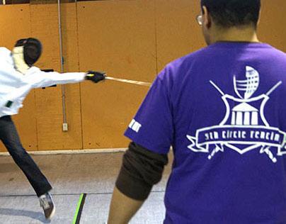 Fifth Circle Fencing Logo
