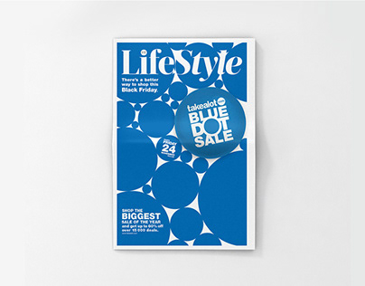 Takealot.com Blue Dot Sale Sunday Times Lifestyle Wrap