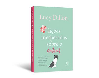 """Cover design of """"Lições inesperadas sobre o amor"""""""