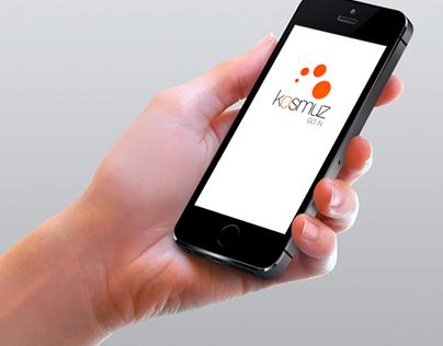 App - Kosmuz [UI/UX]
