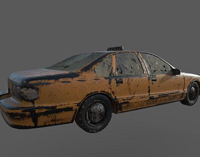 3D car Design model - Game assets