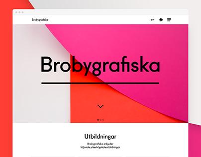 Brobygrafiska.se Redesign
