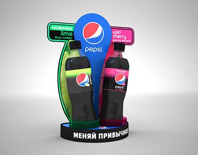 Pepsi posm display
