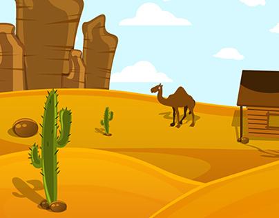 Loneliness of Desert