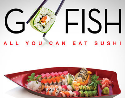 Sushi Garden GO FISH Campaign
