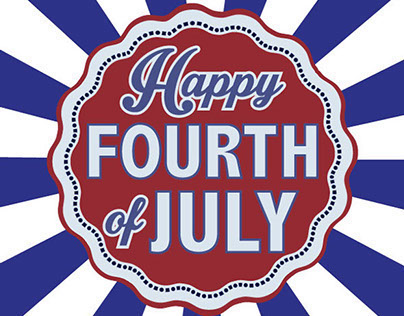 Fourth of July Graphic for Facebook