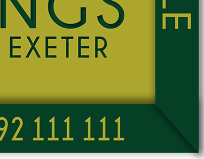 Kings Of Exeter - FOR SALE SIGNS