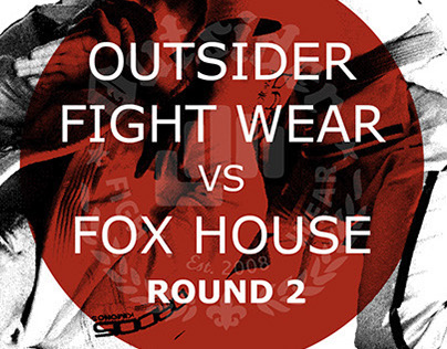 Outsider Fight Wear Promo Event Poster