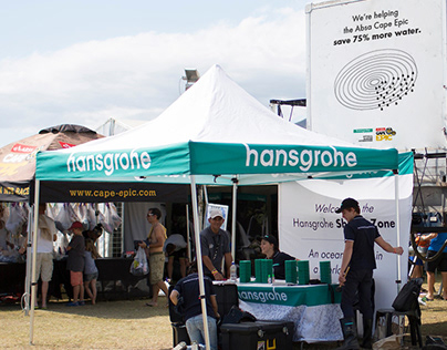HANSGROHE ABSA CAPE EPIC ACTIVATION